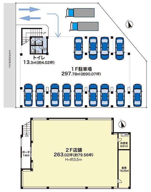 貸店舗・貸事務所・貸倉庫